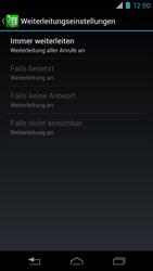Motorola RAZR i - Anrufe - Rufumleitungen setzen und löschen - 8 / 10