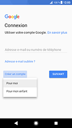 Sony Xperia XZ (F8331) - Android Oreo - Applications - Créer un compte - Étape 5