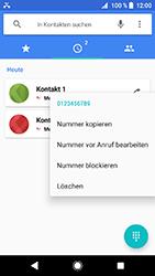 Sony Xperia XZ1 Compact - Anrufe - Anrufe blockieren - 1 / 1