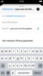 Apple iPhone SE - iOS 13 - E-Mail - E-Mail versenden - Schritt 7