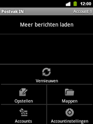 Alcatel OT-903 - E-mail - Hoe te versturen - Stap 5