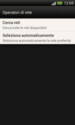HTC Desire X - Rete - Selezione manuale della rete - Fase 7