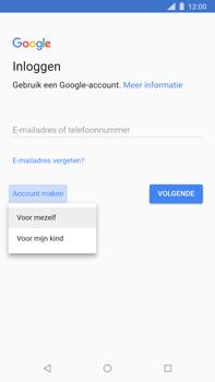 Nokia 8 Sirocco - Applicaties - Account aanmaken - Stap 5