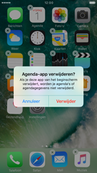 Apple iPhone 6 iOS 10 - iOS features - Verwijder en herstel standaard iOS-apps - Stap 4