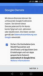Huawei Honor 8 - E-Mail - Konto einrichten (gmail) - 1 / 1
