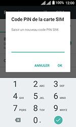 Alcatel U3 - Sécuriser votre mobile - Personnaliser le code PIN de votre carte SIM - Étape 9