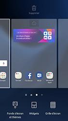Samsung Galaxy S7 - Android N - Prise en main - Installation de widgets et d