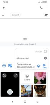 Alcatel 1S (2020) - Contact, Appels, SMS/MMS - Envoyer un MMS - Étape 15