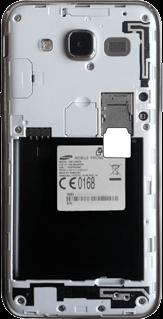 Samsung Galaxy J5 - SIM-Karte - Einlegen - 2 / 2