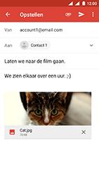 Nokia 3 - Android Oreo - E-mail - E-mails verzenden - Stap 15