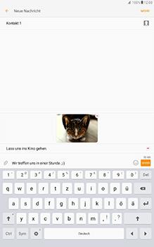 Samsung Galaxy Tab A 10-1 - MMS - Erstellen und senden - Schritt 25