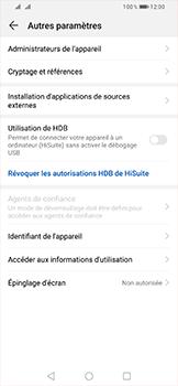 Huawei P Smart (2019) - Sécurité - modifier SIM PIN - Étape 5
