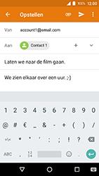 Crosscall Action X3 - E-mail - e-mail versturen - Stap 8