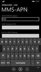 Nokia Lumia 830 - MMS - Manuelle Konfiguration - Schritt 9
