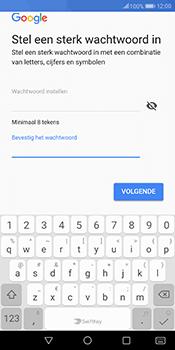 Huawei Mate 10 Pro - Applicaties - Account instellen - Stap 13