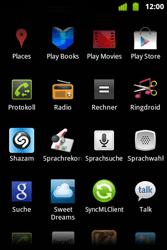 Alcatel OT-983 - Apps - Einrichten des App Stores - Schritt 3