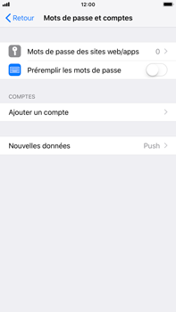 Apple iPhone 7 Plus - iOS 12 - E-mail - Configuration manuelle (outlook) - Étape 4