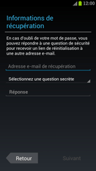 Samsung I9300 Galaxy S III - Applications - Créer un compte - Étape 8