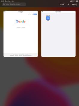 Apple iPad 9.7 (2018) - iPadOS 13 - Internet und Datenroaming - Verwenden des Internets - Schritt 14
