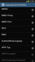 Samsung SM-G3815 Galaxy Express 2 - Internet und Datenroaming - Manuelle Konfiguration - Schritt 15