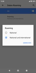Sony Xperia XZ2 Compact - Android Pie - Ausland - Auslandskosten vermeiden - Schritt 10