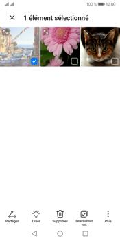 Huawei Y5P - Photos, vidéos, musique - Envoyer une photo via Bluetooth - Étape 7