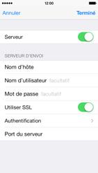 Apple iPhone 5c - E-mails - Ajouter ou modifier un compte e-mail - Étape 18