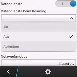 BlackBerry Q10 - Ausland - Im Ausland surfen – Datenroaming - Schritt 9