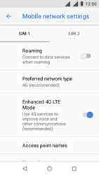 Nokia 1 - Network - Enable 4G/LTE - Step 9