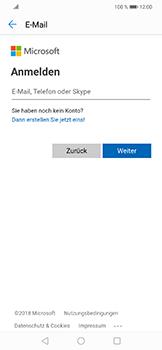 Huawei Nova 3 - E-Mail - Konto einrichten (outlook) - Schritt 5