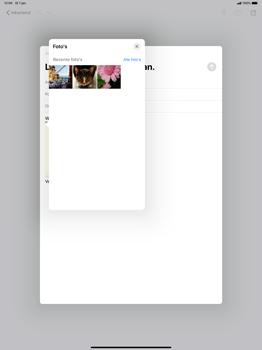 Apple ipad-pro-12-9-inch-model-a1671-ipados-13 - E-mail - Bericht met attachment versturen - Stap 14