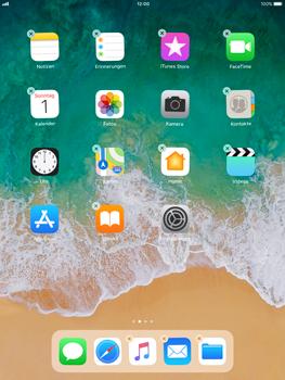 Apple iPad Pro 9.7 inch - iOS 11 - Mehrere App-Symbole gleichzeitig verschieben - 5 / 5