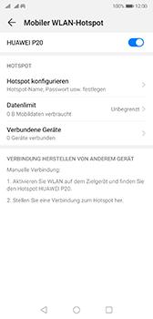 Huawei P20 - Android Pie - WiFi - So aktivieren Sie einen WLAN-Hotspot - Schritt 14