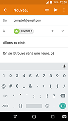 Crosscall Action X3 - E-mails - Envoyer un e-mail - Étape 10
