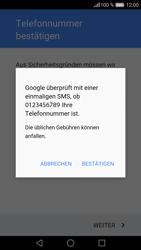 Huawei P9 - Apps - Konto anlegen und einrichten - 1 / 1