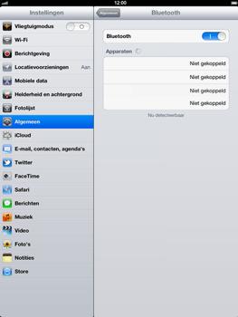Apple The New iPad - Bluetooth - headset, carkit verbinding - Stap 7