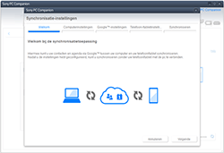 Sony Xperia Z3 Compact 4G (D5803) - Software - Synchroniseer met PC - Stap 4