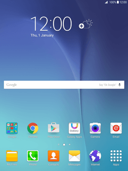 Samsung Galaxy Tab A 9.7 - E-mail - Manual configuration - Step 1