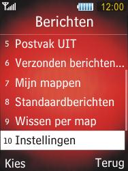 Samsung S5550 Chester - E-mail - handmatig instellen - Stap 4