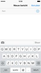 Apple iPhone 5s iOS 8 - MMS - Afbeeldingen verzenden - Stap 3