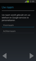 Samsung I9105P Galaxy S II Plus - apps - account instellen - stap 5