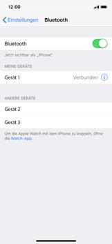 Apple iPhone X - iOS 12 - Bluetooth - Geräte koppeln - Schritt 8