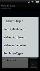 Sony Ericsson Xperia X10 - MMS - Erstellen und senden - Schritt 15