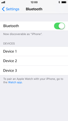 Apple iPhone 5s - iOS 11 - Bluetooth - Connecting devices - Step 7