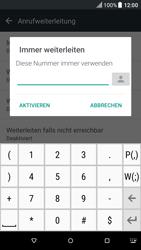 HTC One M9 - Android Nougat - Anrufe - Rufumleitungen setzen und löschen - Schritt 7