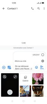 Oppo Reno 4Z - Contact, Appels, SMS/MMS - Envoyer un MMS - Étape 15