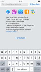 Apple iPhone 6s - Internet und Datenroaming - Verwenden des Internets - Schritt 5