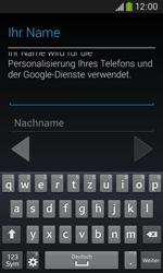 Samsung S7275 Galaxy Ace 3 - Apps - Konto anlegen und einrichten - Schritt 6