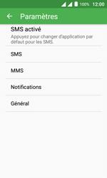 Alcatel Pixi 4 (4) - SMS - configuration manuelle - Étape 6
