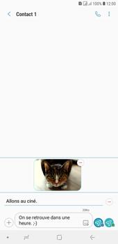 Samsung Galaxy J4+ - Contact, Appels, SMS/MMS - Envoyer un MMS - Étape 19